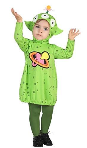 Baby Boys Girls Green Space Alien Halloween Carnival