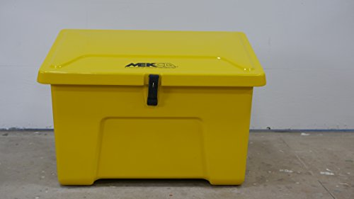 MEK-23 Sand/Salt Storage Box (Safety Yellow)