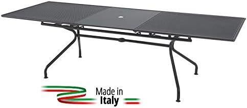 EMU Mesa para Exterior Extensible Modelo Athena Marca tamaño 160 + ...