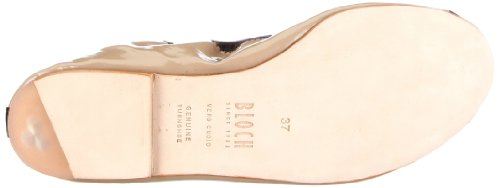 Bloch Luxury Ballet Flat, Ballerine da donna Beige (Beige/Pum)
