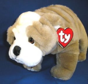 - TY Classic Plush - WINSTON the Dog (large tag) by ty inc