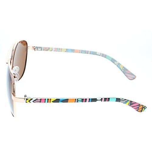 Cadre Fashion de Aztec lentille Aztec Tribal Femmes aviateur Eyewear Lunettes Polarisés microfibres gratuit Navajo Vox soleil Pouch Ambre FqxIfw560n