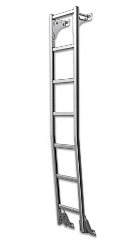 Ladder Rear - Prime Design AAL Rear Van Door Hook Access Ladder (no Drilling) (Compatible with RAM ProMaster w/High Roof)