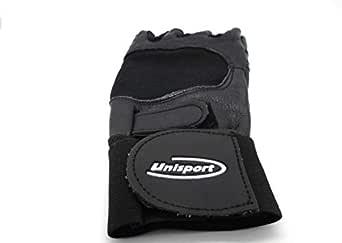 Unisport Fitness Half Finger Gloves - M,Black