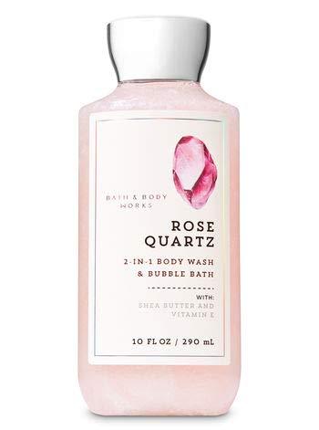 Bath and Body Works ROSE QUARTZ Gift Set - Body Lotion - Body Cream - Fragrance Mist & Shower Gel -Full size