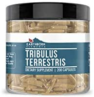 Tribulus Terrestris Extract, 200 Capsules, 1370 mg Servings, Non-GMO, Gluten-Free, Pure, Potent, Made in The USA, Natural, Lab-Tested for Purity, Satisfaction Guaranteed