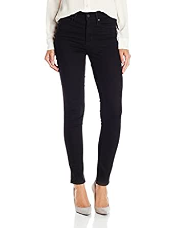 Levi's Women's Slimming Skinny Jean, Blackened Ash, 28 x 32