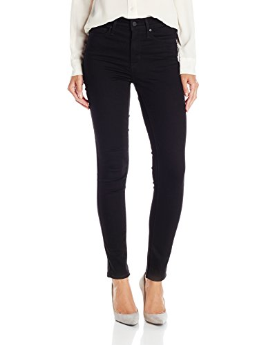 Levi's Women's Slimming Skinny Jean, Blackened Ash (65% Cotton, 17% Polyester, 16% Viscose, 2% Elastane), 31Wx30L