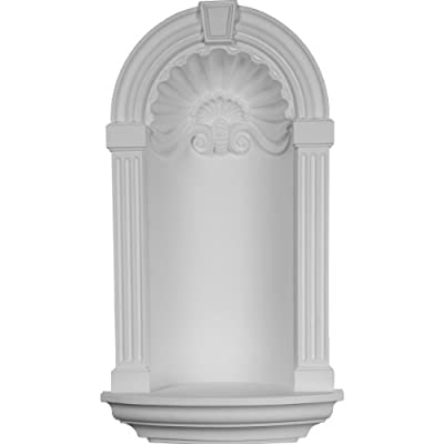 Ekena Millwork NCH17X31AS Wall Niche, Factory Primed White