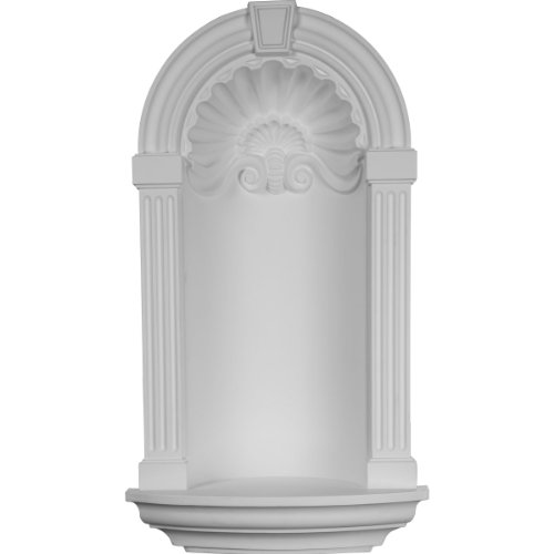 (Ekena Millwork NCH17X31AS Wall Niche, Factory Primed White)