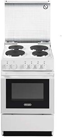 De Longhi Cucina Elettrica Sew 554 Pn 4 Piastre Elettriche Forno Elettrico Statico Classe B Dimensioni 50 X 50 Cm Colore Bianco Amazon It Grandi Elettrodomestici