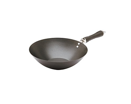 Giannini 24145 Extragourmet Wok 28 cm with Soft Touch Handle, Multicolor