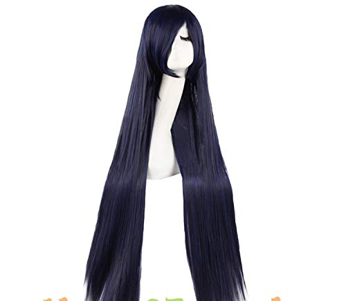 Long Straight Hair 25 Colors Cosplay Wig Ladies Heat Resistant Synthetic Wigs,P1B/30,38inches ()