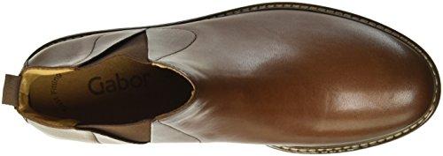 Gabor Shoes Jollys, Botas Efecto Arrugado para Mujer Marrón (caramello Effekt)
