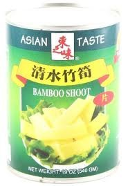 Bamboo Shoot Slice (ASIAN TASTE BAMBOO SHOOT SLICES-19 OZ(PACK OF 2) by Asian Taste)