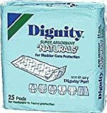 Dignity Super Natural Self Adh Pads, Pkg Of 25