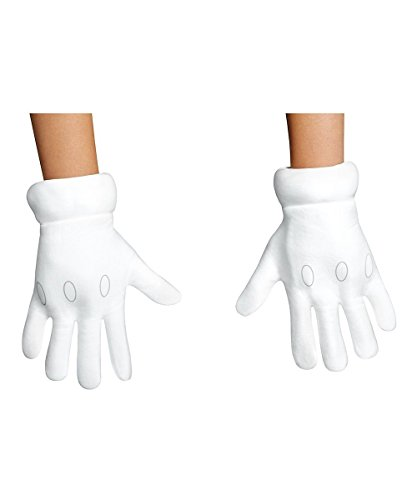 Super Mario Boys Gloves Costume Accessories