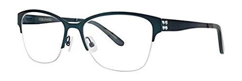 Vera Wang NERTHUS Teal Eyeglasses Size53--140.00