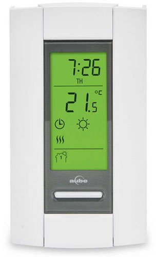 Compact Thermostat (Aube By Honeywell TH115-A-240D-B/U Programmable Electronic Thermostat)