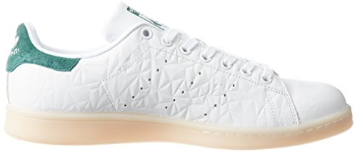 ftwwht cgreen Blanc Basses Baskets Smith Stan Femme wht Adidas Rqgnp4xwx