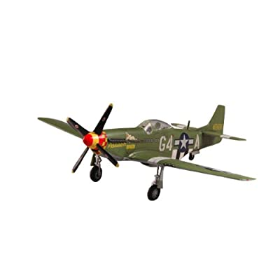 Easy Model P-51D Mustang IV 362FS, 357FG, 1944 Building Kit: Toys & Games