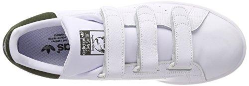 Hombre White Footwear White CF Deporte Zapatillas Blanco 0 Stan Smith Adidas Footwear de Cargo Night para nvCwxR0Pq7