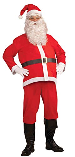 Forum Novelties Promotional Santa Claus Suit, White/Red, X-Large Costume -