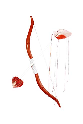 Cupids Bow and Arrow Costume Accessory Set, Red, One (Cupid Accessories Costumes)