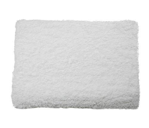 Tapete Banho Smooth Etna Branco 70x50 cm Têxtil