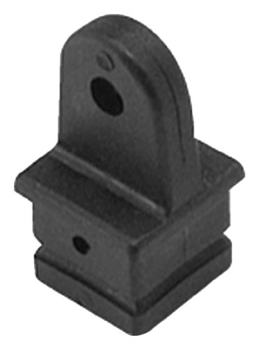 Taylor Made Products 11831 Square Tube Bimini BoaTop 1-Inch Black Internal Marine Eye End