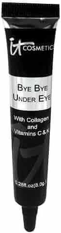 It Cosmetics Bye Bye Under Eye Full Coverage Concealer, Medium, 0.28 fl oz.