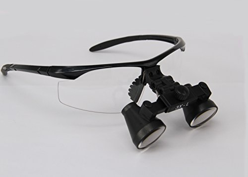 Ymarda Optics hot selling 3.0X Binocular Loupes Surgical Loupes (Black frame 3.0x Magnifier with different working distances) (L (440-540mm) with Black frame)