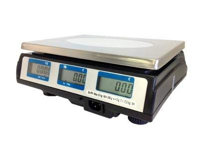 Peso peso de precios, sin funda para mercado EXA 56PPI 15 kg/5 g: Amazon.es: Industria, empresas y ciencia