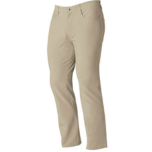 FootJoy Athletic Fit Performance Pants (35/30, Khaki) (Footjoy Performance Pant)