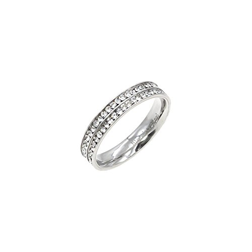 Row Eternity Wedding Band - 6