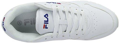 brillante Wmn Orbit Bianco Low Sneakers da donna Fila bianco q8TPOp