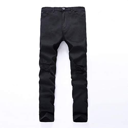 Attillati Denim Jeans Jeans Regolare Hupoert Fashion 28 Uomo Aderenti Stretch Da Skinny Pantaloni Taglio Dal YRqHx1