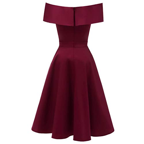 Elegante Vestido Mujeres Adeshop c Color Vintage Princesa 7f0wdfH5q