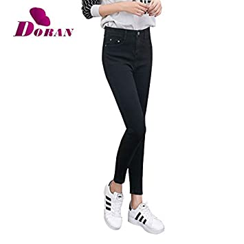 34ff4bb2458 Image Unavailable. Image not available for. Color  KathShop Womens Colored  Skinny Jeans ...