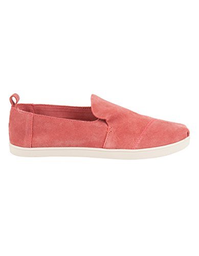 Suede Roses - TOMS Women's Deconstructed Alpargata Faded Rose Suede Cupsole 7.5 B US