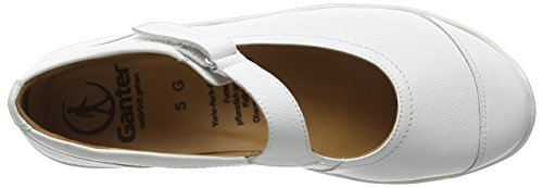 Ganter Gill, Ampi G Signore Chiusi Ballerine Bianche (bianco / Perla 0203)