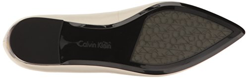 Calvin Klein Women's Genie Pointed Toe Flat, Soft White, 8 M US by Calvin Klein (Image #3)