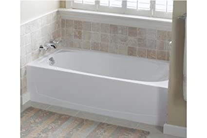 Performa 29u0026quot; Bathtub With Left Hand Drain Finish: High Gloss Almond
