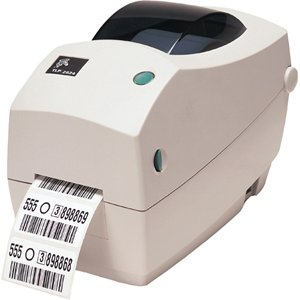 - ZEBRA- TLP2824 Plus Thermal Transfer Desktop Printer for Labels, Receipts, Barcodes, Tags, and Wrist Bands - Print Width of 2 in - Serial and USB Port Connectivity