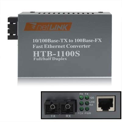 CAOMING Multi-Mode Fast Ethernet Fiber Transceiver by CAOMING