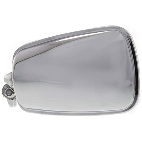 New Left Side Mirror For 1968-1977 Volkswagen Beetle Manual, Non-Folding, Non-Heated, Chrome VW1320101 - 70 Beetle Volkswagen 1970