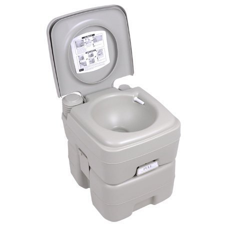 Deluxe 5 Gallon Portable Camping Hiking Walking Outdoor Traveling Outdoor Toilet Potty by OEM Control