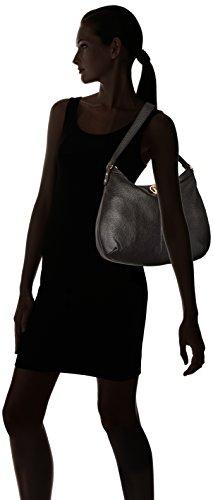 Black Pebble Bag Maggie Hobo Hilfiger Tommy Yzx1X