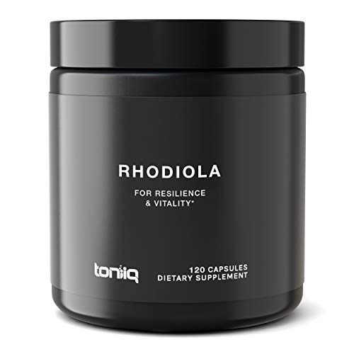 Triple-Strength 600mg Rhodiola Rosea - 120 Capsules - 5% Salidroside Concentrated Extract - The Strongest Rhodiola Supplement Available - Optimal Support for Reduced Fatigue and Enhanced Energy
