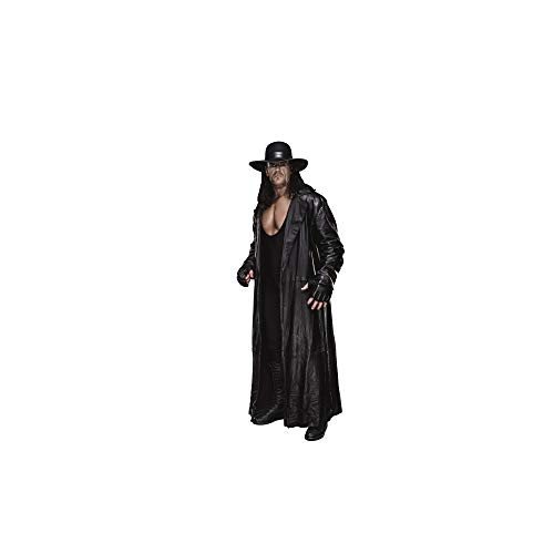 (FATHEAD Undertaker-Life-Size Officially Licensed WWE Removable Wall Decal, Multicolor)